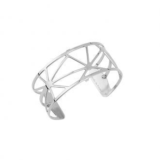 Bracelet Les Georgettes motif Solaire 25 mm finition argent 70316371600000