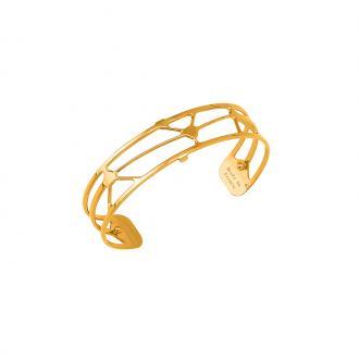 Bracelet Les Georgettes motif solaire 14 mm finition or 70316380100000