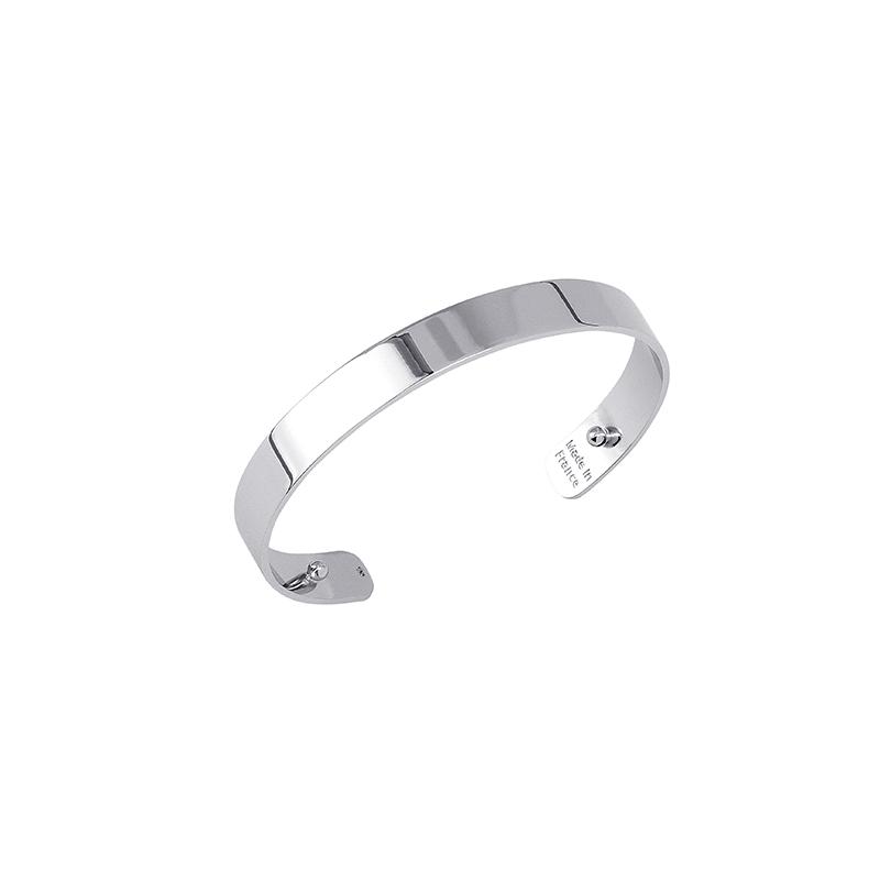 Bracelet Les Georgettes design Bandeau 14 mm finition argent 70316901600000