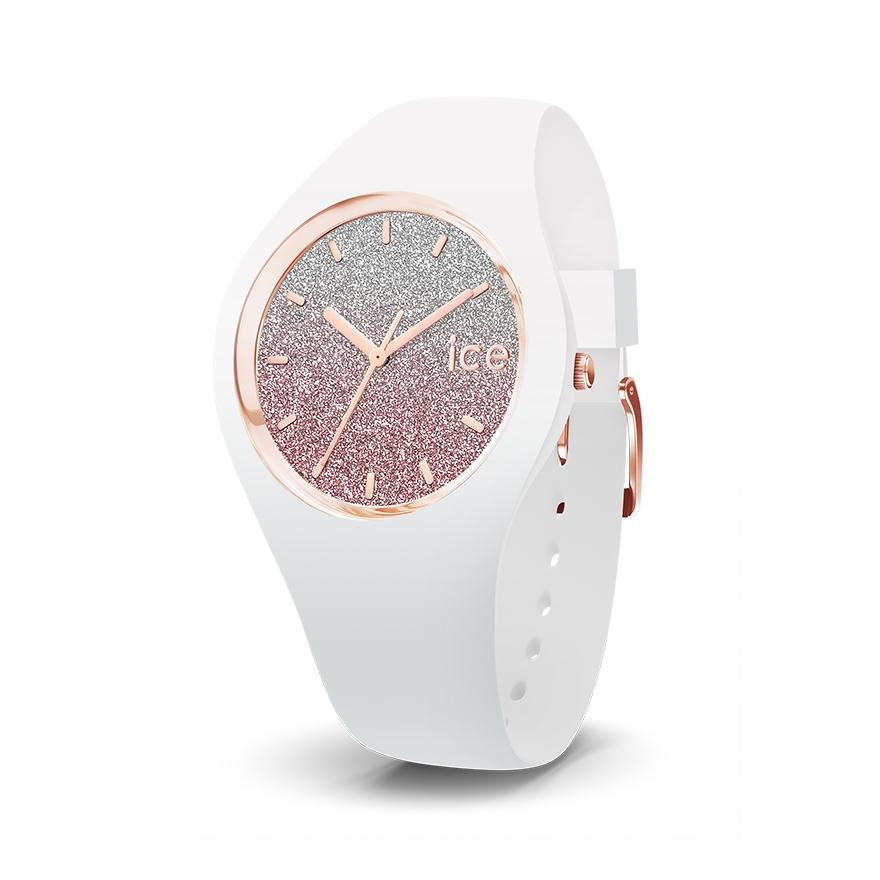 75442597c0d80 Ice Watch Rose Femme Blanc Et Montre Lo M 013431 Pour Taille AL54qc3Rj