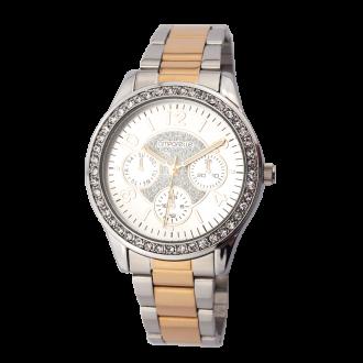 Montre Femme Amporelle métal bicolore P100500-A2