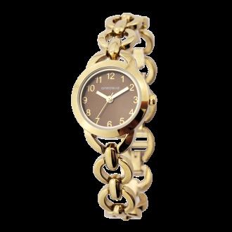 Montre Femme Amporelle métal doré P100516-A2