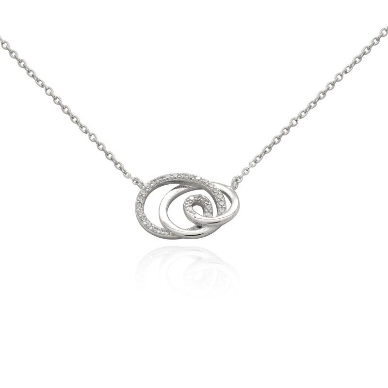 Collier Carador collection spirale RNS00250WH