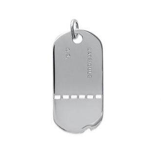 Pendentif Carador Argent 925/000e Militaire