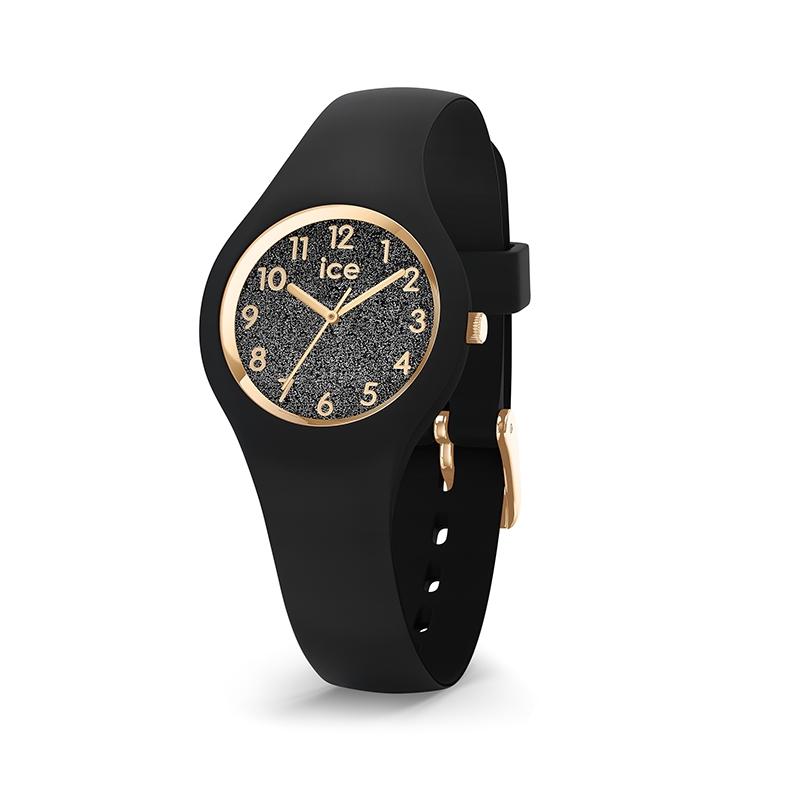 design exquis meilleur prix pour renommée mondiale Montre Ice-Watch Glitter black XS 015347
