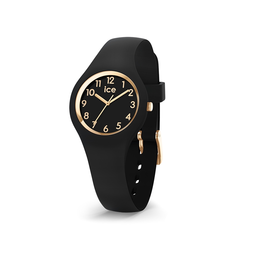 9d7ce68ebb6f8 Montre Ice-Watch Glam black gold XS 015342 pour ENFANT/BEBE et FEMME