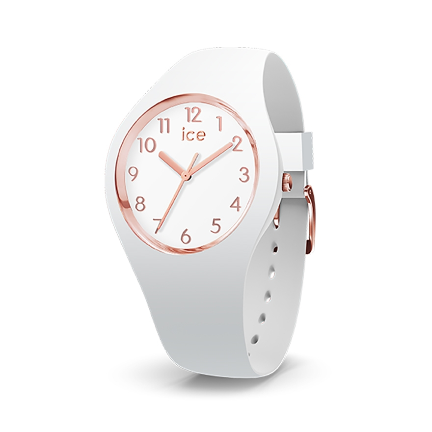 montre ice watch glam white rose gold small 015337 pour femme. Black Bedroom Furniture Sets. Home Design Ideas