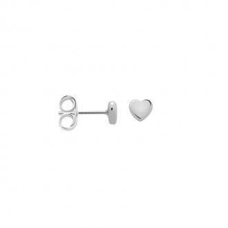 Boucles d'oreilles Femme Carador petit coeur argent 925/000 M6095D