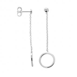 Boucles d'oreilles Femme Carador cercle argent 925/000 MORP1463A