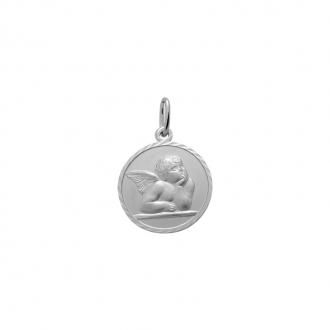 Médaille Carador ange Raphaël Argent 925/000 M5401B