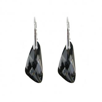 Boucles d'oreilles Indicolite Wing cristal violet DO-WING-SINI