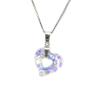 Collier Indicolite Miss cristal blanc CO-MISS-001AB