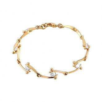 Bracelet femme Jourdan Bijoux plaqué or JS 391