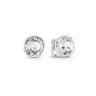 Boucles d'oreilles Guess clous argenté UBE83059
