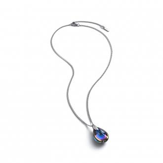 Collier Baccarat Psydélic scarabée bleu 2809923