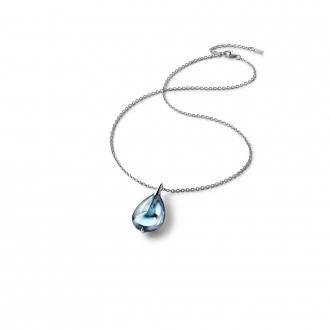 Collier Baccarat Fleurs de Psydélic aqua miroir 2608374