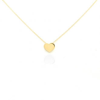 Collier femme Carador Coeur collection graphique en or jaune 375/000 188CL1