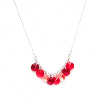 Collier Indicolite Helen rouge CO-HELEN-208
