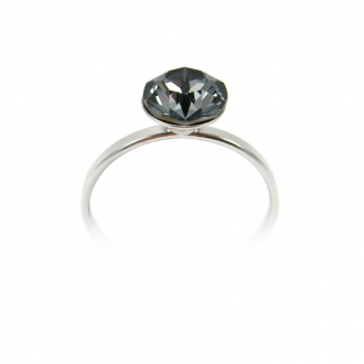 Bague Indicolite Ronde 8 mm Gris BAG-RON8-SINI
