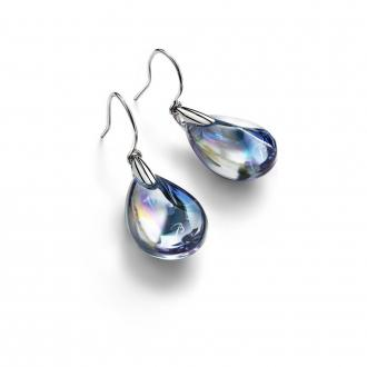 Boucles d'oreilles Baccarat Psydélic clair irisé 2607014