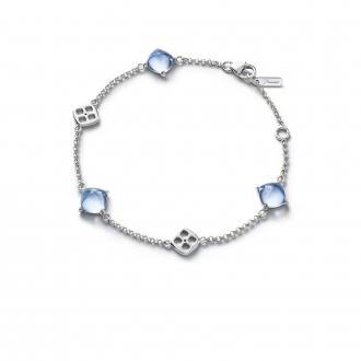 Bracelet Baccarat Mini Médicis Aqua 2811652