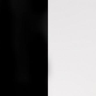 Cuir pour bracelet 8 mm Les Georgettes Noir/Blanc 703215299M4000