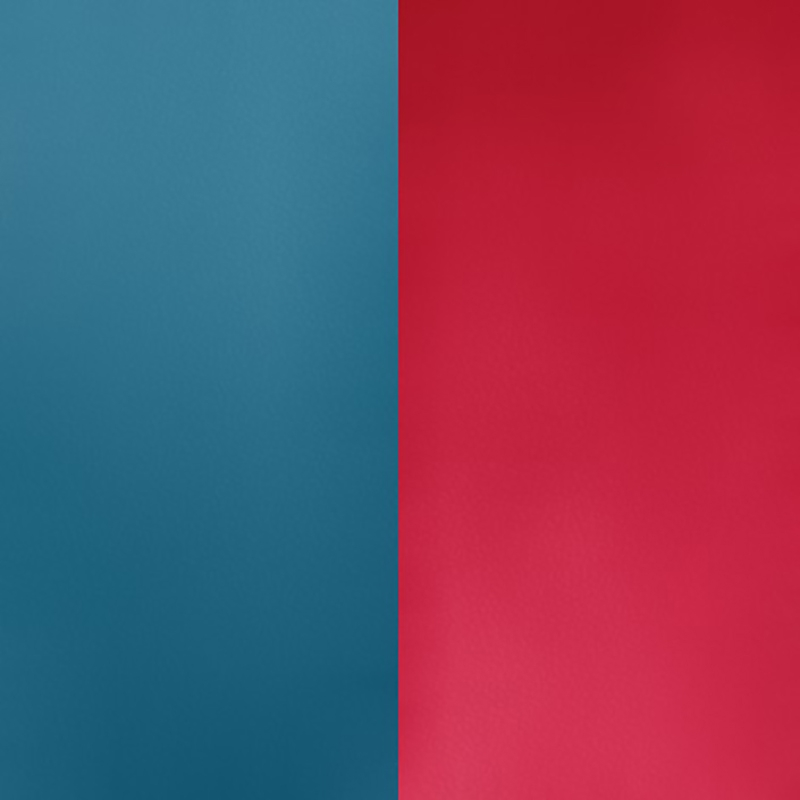 Vinyle pour boucles d'oreilles créoles Les Georgettes Bleu pétrole/Framboise 703218484M7000