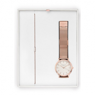 Coffret Montre et bracelet Rosefield TRMR-X209