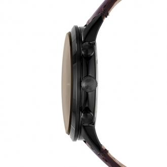 Montre Homme Fossil Townsman Chronographe cuir marron FS5437