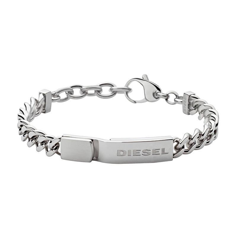bracelet homme acier diesel