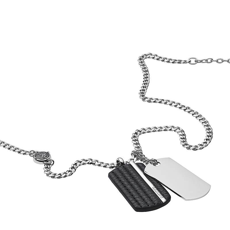 collier homme metal