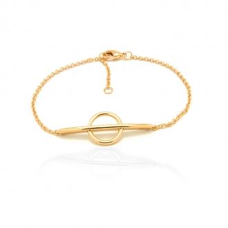 Bracelet femme Carador en plaqué or 32EV0600
