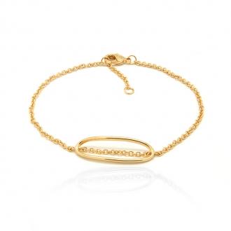 Bracelet femme Carador en plaqué or 32EV0440