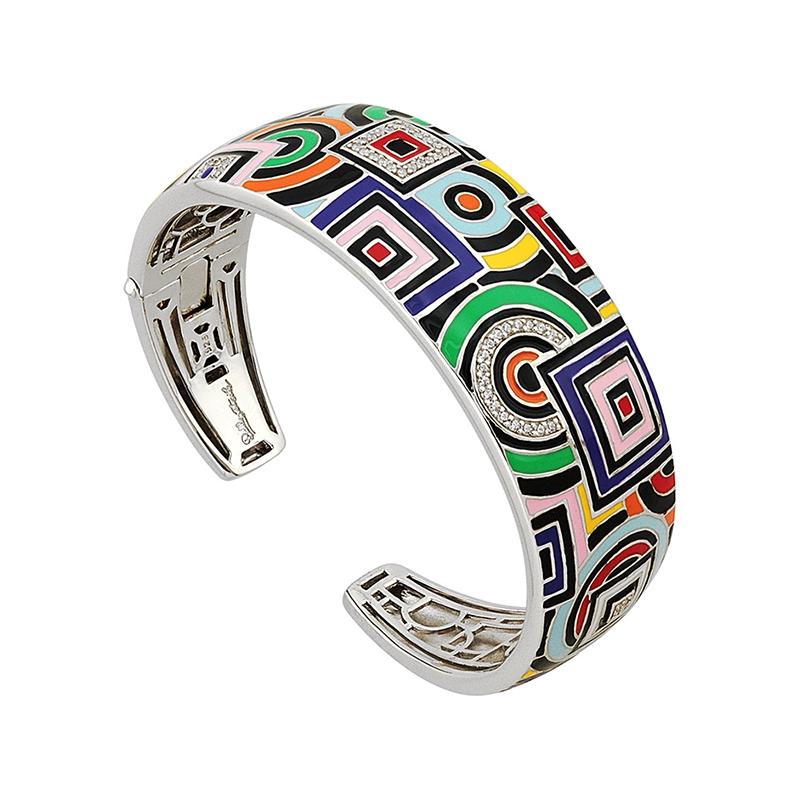 Bracelet Jonc Una Storia Géométric argent 925/000 JO121147