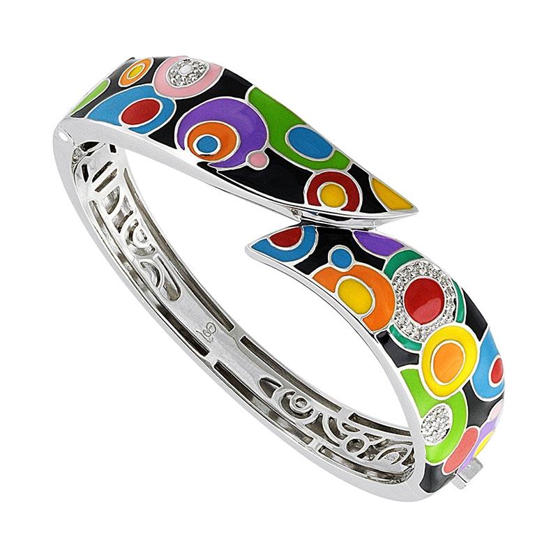 Bracelet Jonc Una Storia Pop Rock argent 925/000 JO121157