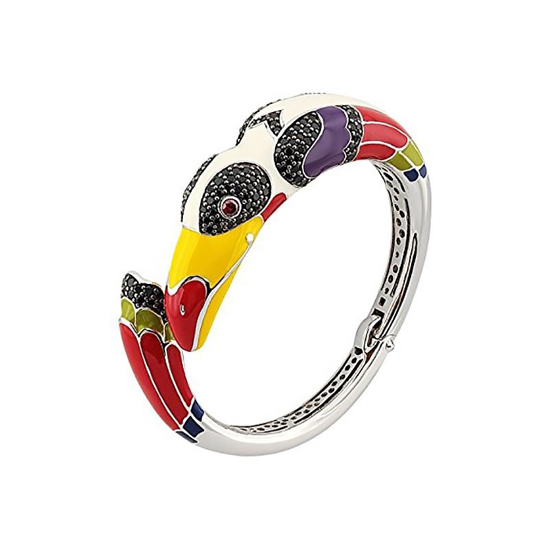 Bracelet Jonc Una Storia Toucan argent 925/000 JO12144