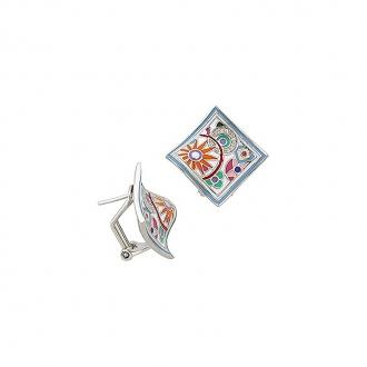 Boucles d'oreilles Una Storia Pashmina argent 925/000 BO12156