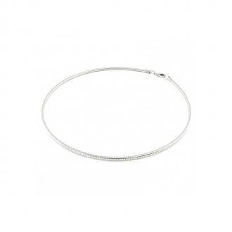 Collier câble Una Storia argent 925/000 CA10615