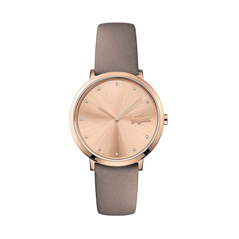 Montre Femme Lacoste MOON ultra slim taupe 2001039