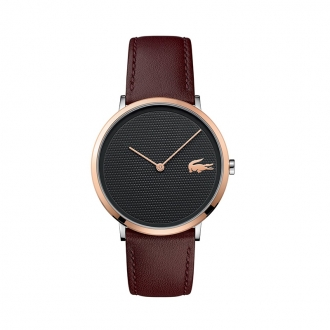 Montre Homme Lacoste MOON ultra slim marron 2010952