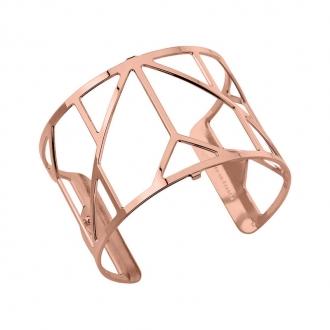 Bracelet  Les Georgettes motif Amour 40 mm finition or rose 70307214000000