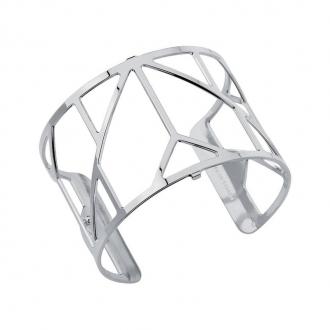 Bracelet Les Georgettes motif Amour 40 mm finition argent 70307211600000
