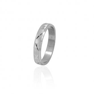 Bague femme Carador anneau ciselé étoile argent 925/000