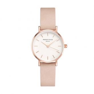Montre femme Rosefield The Small Edit rose tendre 26WPR-263