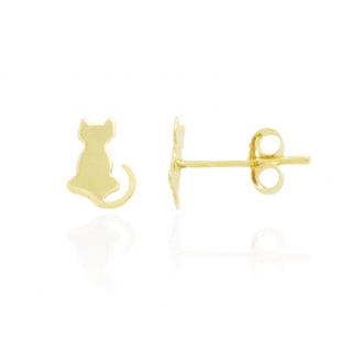 Boucles d'oreilles Carador enfant Or jaune 375/000e