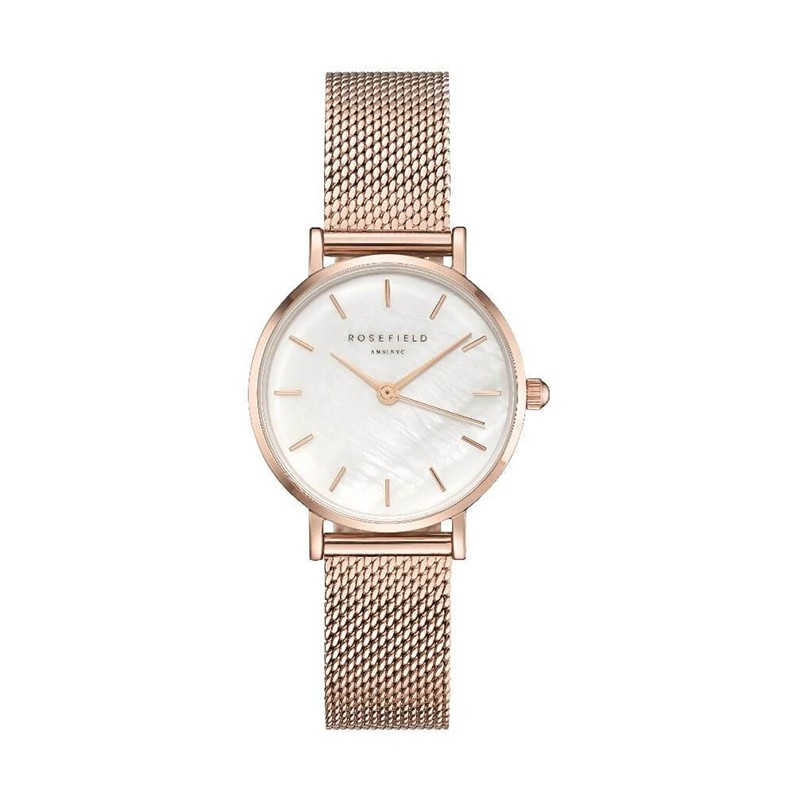 Montre femme Rosefield The Small Edit milanaise or rose 26WR-265