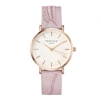 Montre femme Rosefield City Bloom rose CIBLR-E91