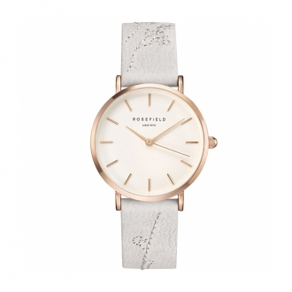 Montre femme Rosefield City Bloom blanc CILIR-E93