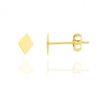 Boucles Carador en forme de losange Or jaune 375/000e