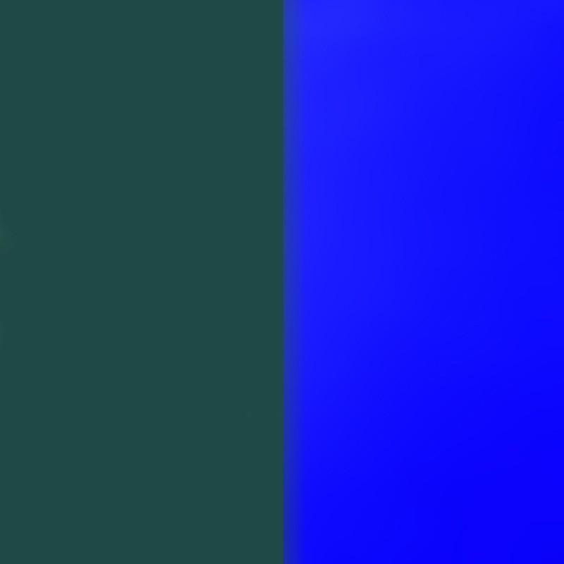Vinyle pour boucles d'oreilles demi lune Les Georgettes Bleu Sapin/Bleu outremer 703218384BF000